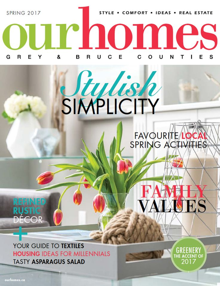 OUR HOMES Grey Bruce Spring 2017    Read more from this issue at:  http://www.ourhomes.ca/articles/blog/article/on-stands-our-homes-grey-bruce-spring-2017