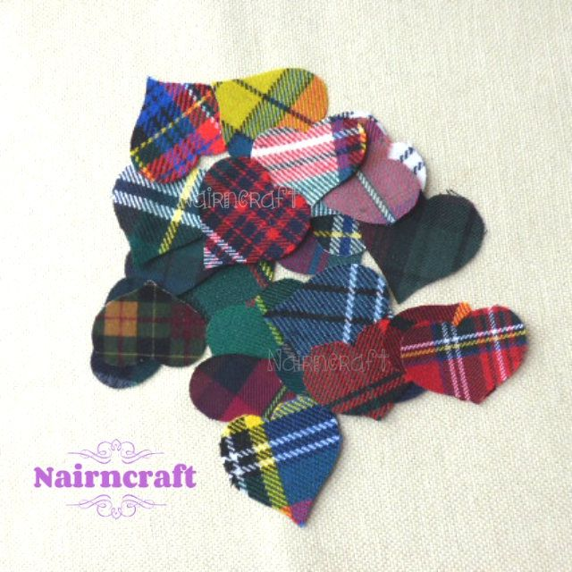 Just in: Hearts - Applique - Patches - Cut Outs - Multi Coloured - Mix of - Tartan - Plaid - Fabric - 20 pieces - Cut Out - Sew On - Embellishments https://www.etsy.com/listing/546520921/hearts-applique-patches-cut-outs-multi?utm_campaign=crowdfire&utm_content=crowdfire&utm_medium=social&utm_source=pinterest