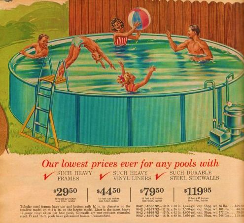Sears Family Pool C Had A Friend With One Of These Was