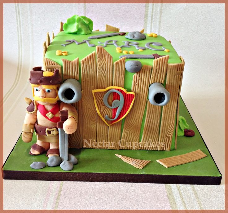 Cake Design Coc : 17+ best images about Clash of the clan cake on Pinterest ...