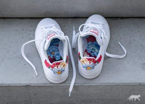 adidas Stan Smith W (Ftwr White / Ftwr White / Power Red)
