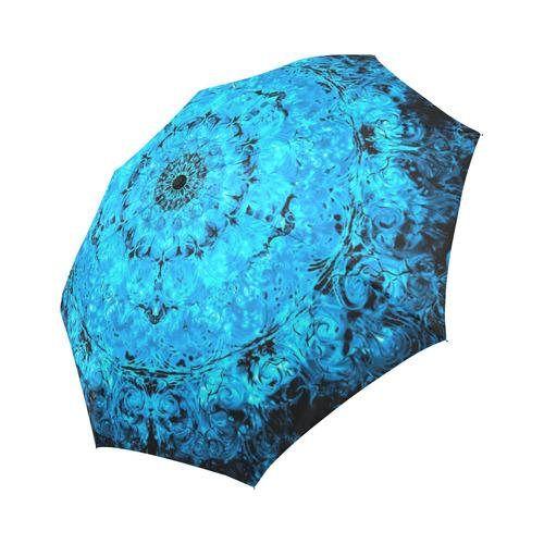 Light and water mandala Large  umbrella Rain and sun