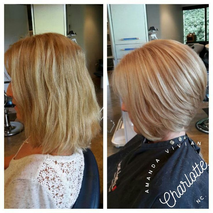 Stacked bob, short hair, short haircut, charlotte, nc, hairstylist, colorist