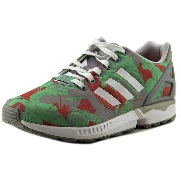Adidas Adidas Zx Flux Women Round Toe Synthetic Sneakers ($68) ❤ liked on Polyvore featuring shoes, sneakers, multiple colors, adidas shoes, multicolor shoes, low heel shoes, adidas and round toe shoes