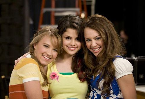 Emily Osment And Miley Cyrus Selena Gomez as Mikayl...