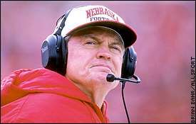"""You can tell by looking at me that I've got more miles behind me than I've got in front of me. When you reach that point, if you've got some good years left, you want to make sure that you use them wisely.""   ~ Nebraska Cornhusker Football Coach Tom Osborne"