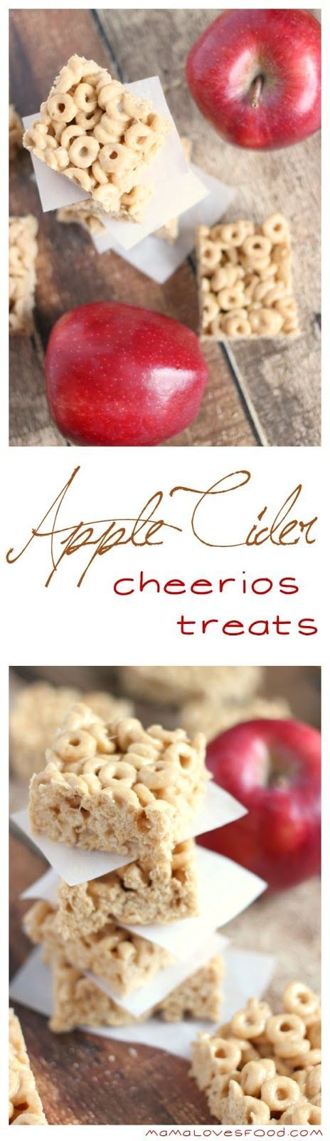 Apple Cider Cheerios Treats #Albertsons #astockupsale ad