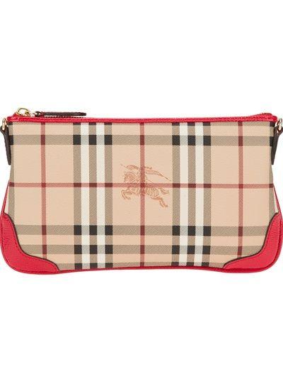 BURBERRY LONDON 'Haymarket' Check Crossbody Bag