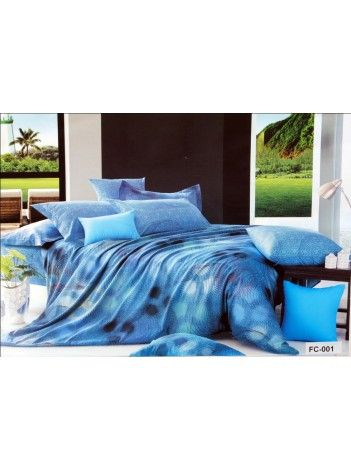 The oceanic blue hue reminds me of the beach and soothing waters. that's what a bedroom should be- soothing and calming!  #ValtellinaOnPinterest