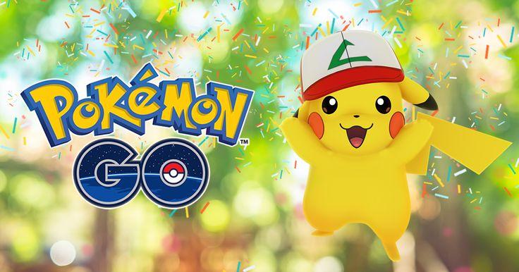 Pokémon GO fête ses un an ! A cette occasion Niantic propose un événement spécial pendant deux semaines.  Ainsi, du 6 juillet à 22 heures au 24 juillet à 22 heures, les Pikachu découverts dans la nature porteront la casquette de Sacha.  Une Box Anniversaire spéciale sera aussi disponible dans la boutique du jeu.   #Android #iOS #Pokemon #Pokémon Go #The Pokémon Company