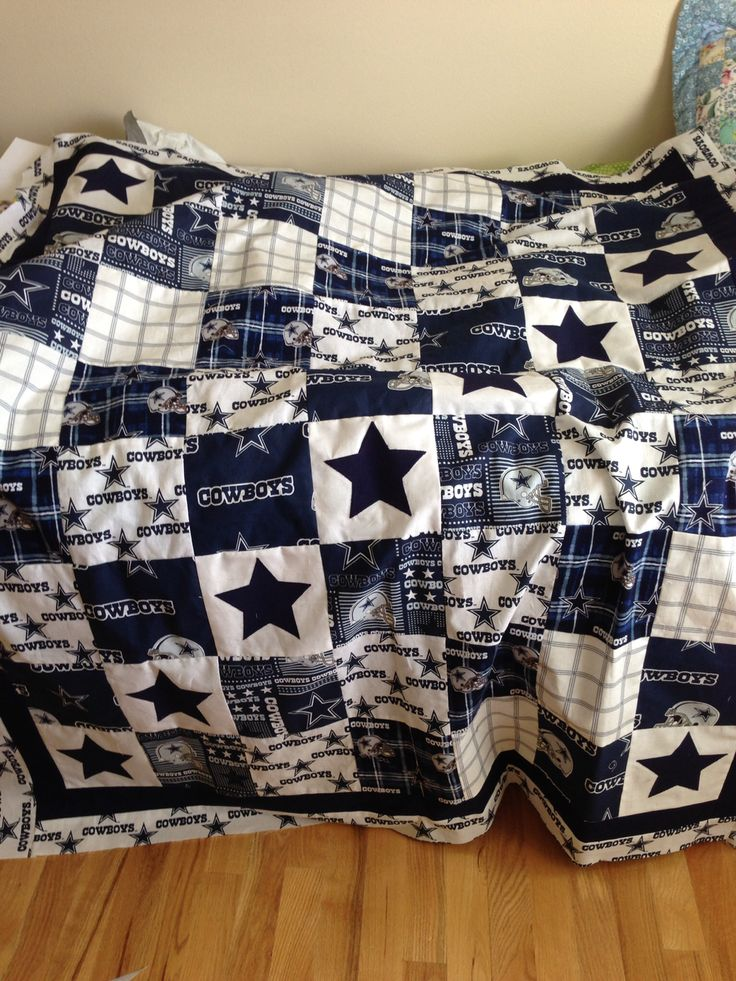Dallas Cowboys quilt