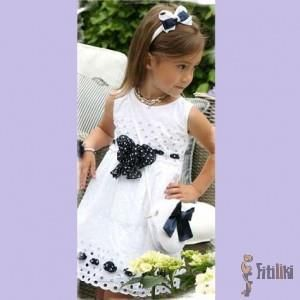 Нарядное брендовые платье для девочки