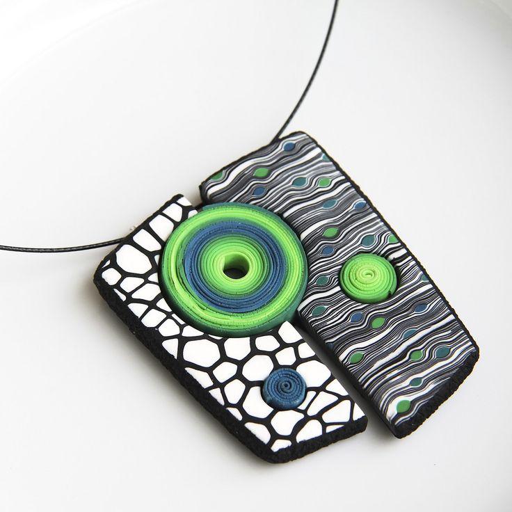 Geometrical pendant (inspired by Eva Hašková)