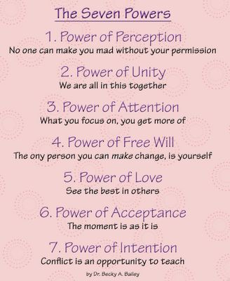 The 7 Powers for Self-Control from Easy to Love, Difficult to Discipline