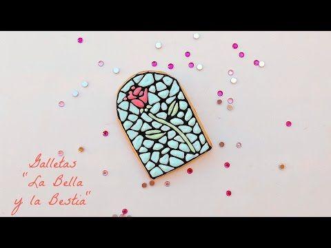 Juliart: Galletas la Bella y la Bestia/ Beauty and the Beast cookies