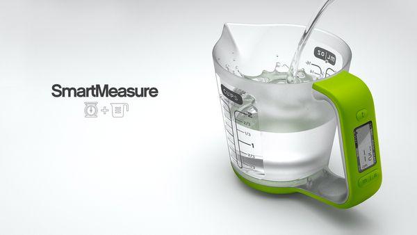 SmartMeasure - Digital Measuring Cup by Ryan Eder, via Behance