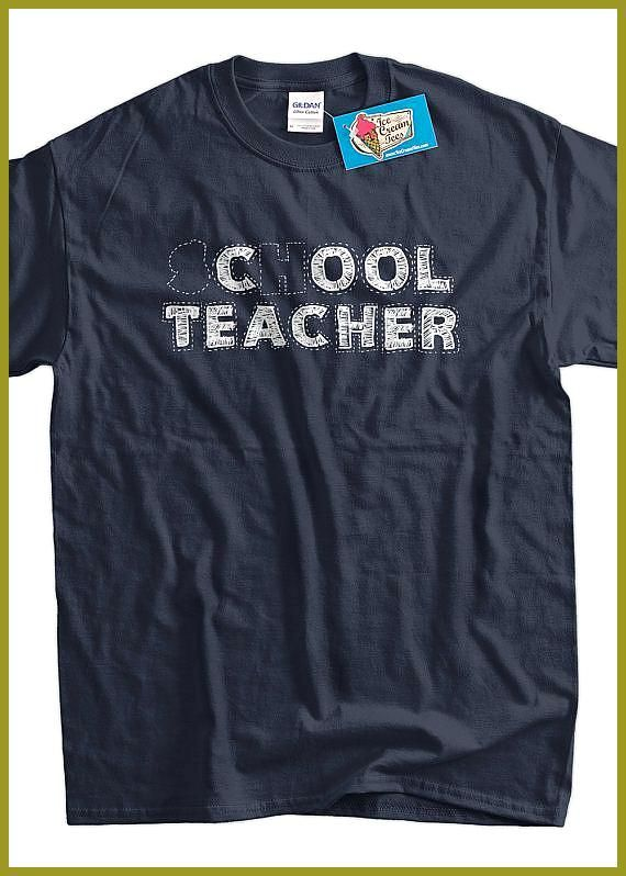 School Cool Teacher Funny Novelty T-Shirt Mens tee TShirt