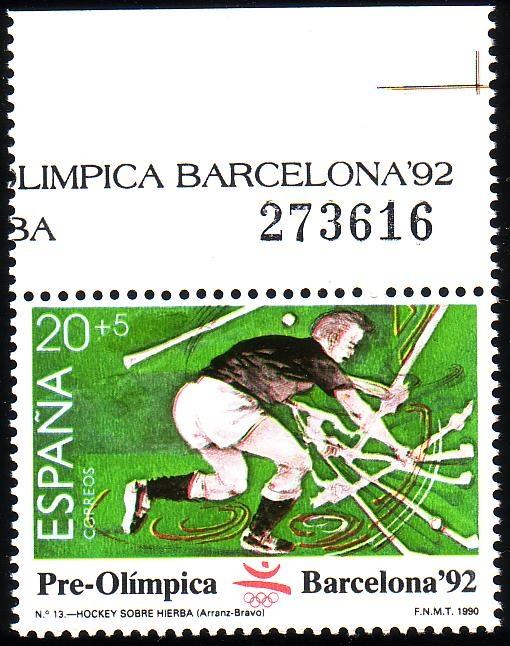 Stamp from Spain | Barcelona 1992, Olympic Games