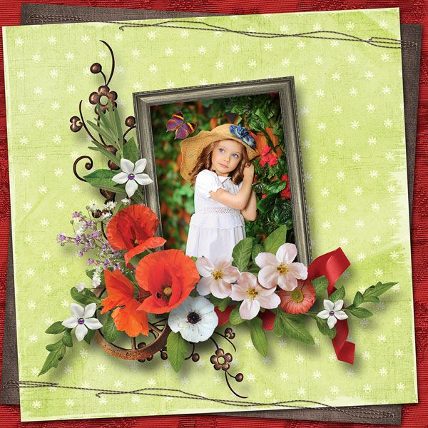 """""""Picking Poppies"""" - Collection by Alexis Design Studio   http://www.thedigichick.com/shop/Picking-Poppies-Collection.html  save 55%  photo Dmitrij Matuškin use with permission"""