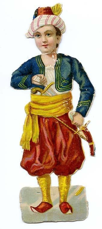 DECOUPI ANCIEN TURC - ORIENTAL AVEC POIGNARD fr.picclick.com