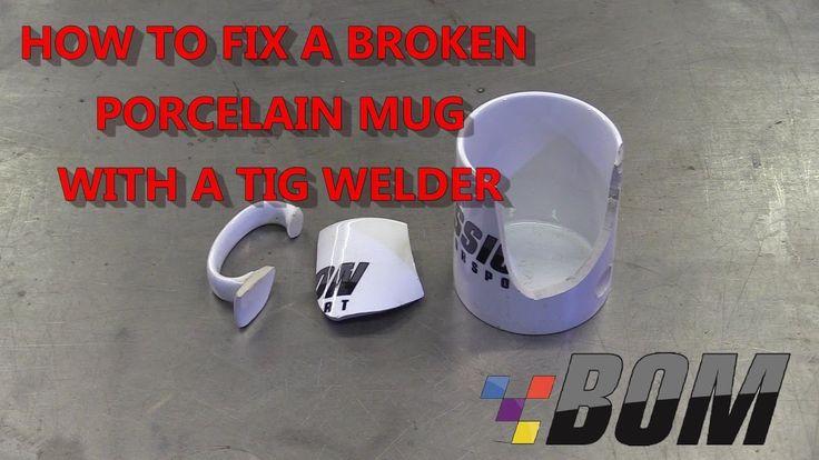 How to Fix a Porcelain Mug with a TIG Welder 2017 welding - aluminum tig welder sample resume