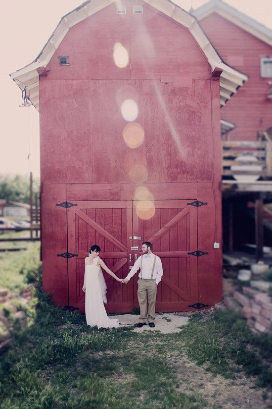 DIY Red Barn Wedding