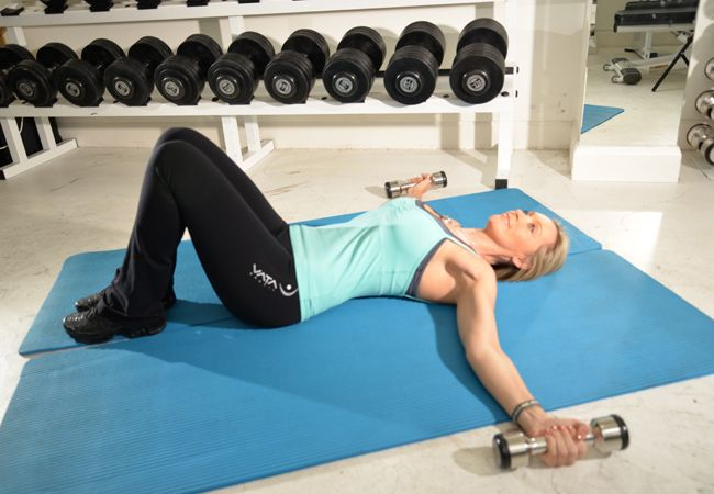 8 workouts for a firmer bust - Best chest exercises for women - Women's Health & Fitness