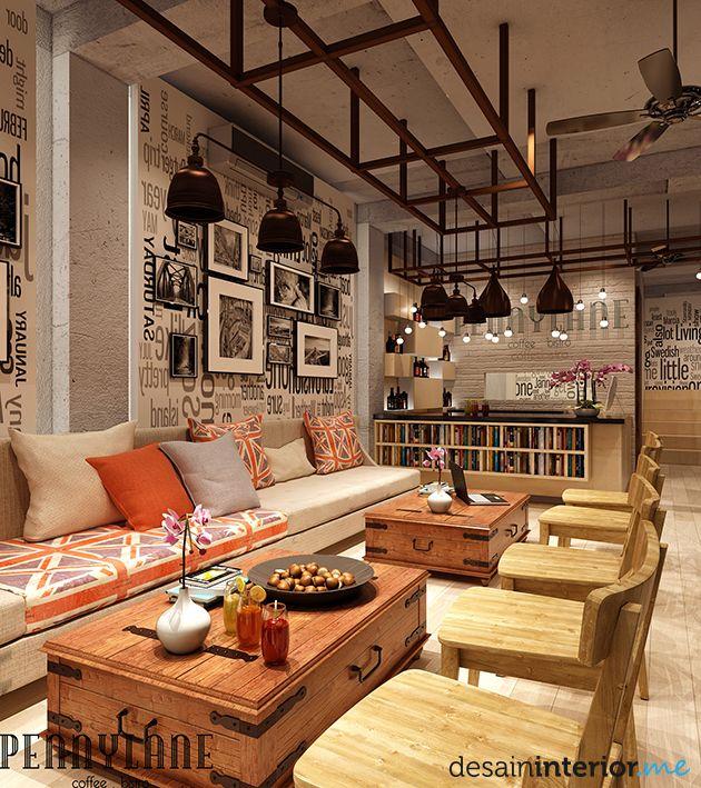Interior Cafe Unik ค้นหาด้วย Google Cafe Pinterest