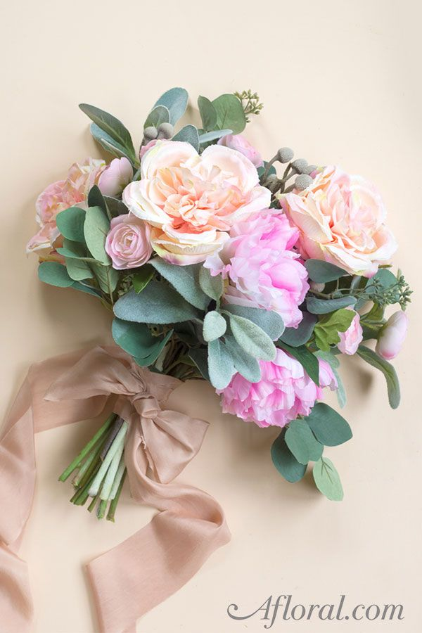 How to Make Your Own Wedding Bouquet with Fake Flowers Best Wedding ...