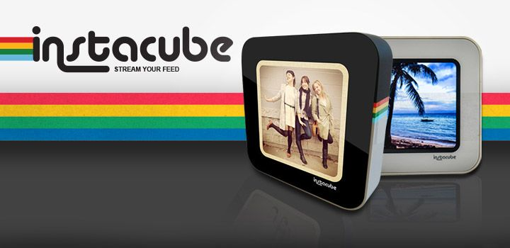 Share your Instagram photos in a whole new way with the Instacube!