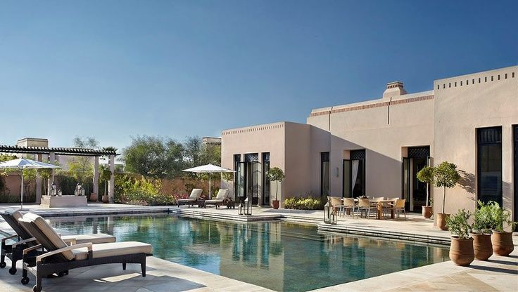 The pool of the Royal Villa at Four Seasons Resort Marrakech