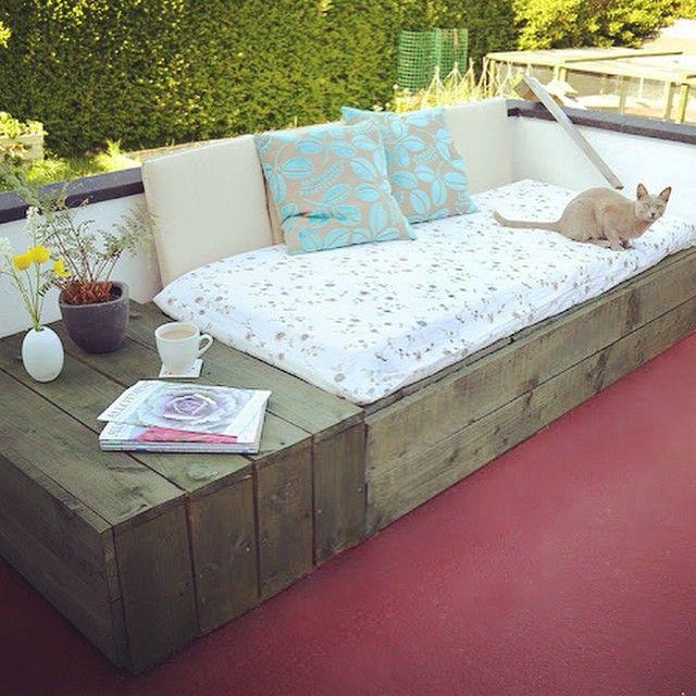 DIY budget loungebank | Inrichting-huis.com