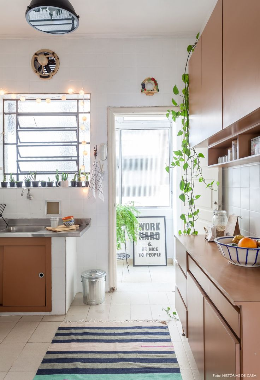 Cozinha de Estar :: Móveis e objetos descolados decoração essa cozinha antiguinha.