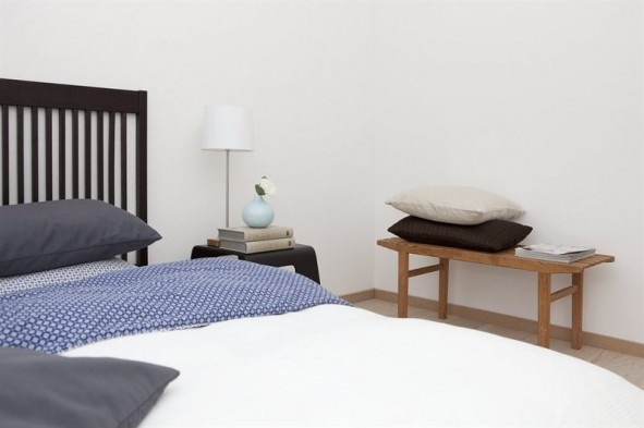 Homestaging in Lund -bedroom.