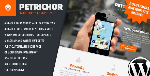 Discount Deals Petrichor - Responsive WordPress Landing PageYes I can say you are on right site we just collected best shopping store that have