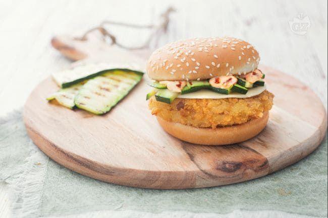 Ricetta Hamburger Fatti In Casa Giallozafferano.Mcchicken Delicato Ricetta Ricette Idee Alimentari Zucchine Grigliate