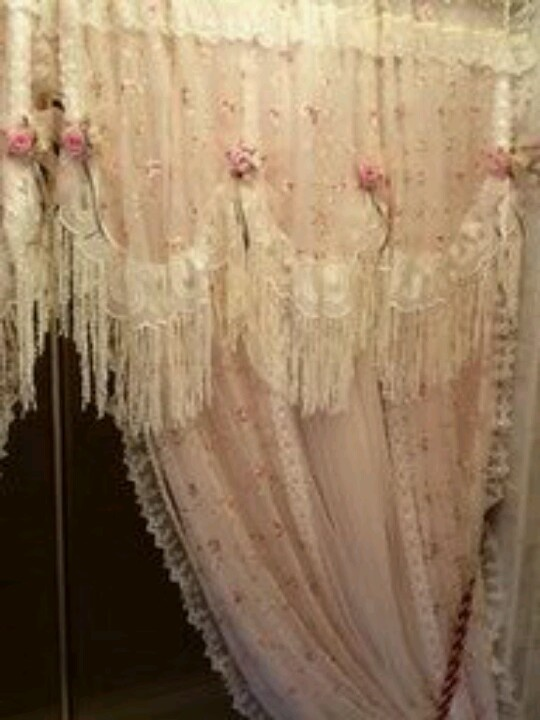 53 Best Shabby Chic Curtains Images On Pinterest Shabby