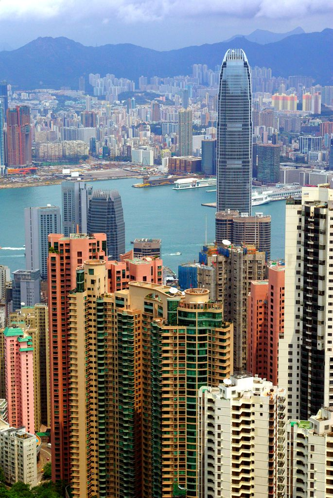Victoria Harbour, Hong Kong   China (by Horse N. Buggy)    (Source: travelingcolors)