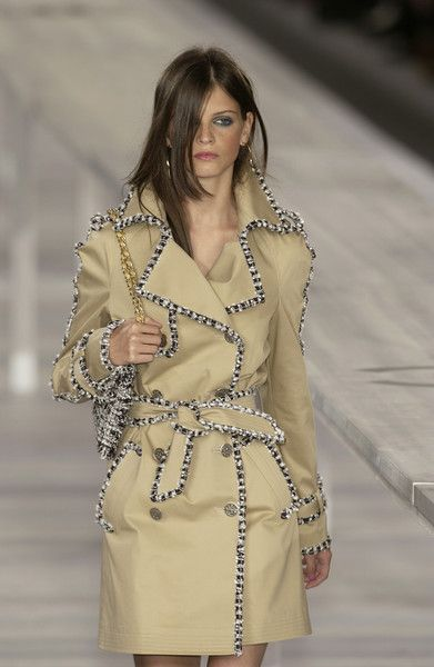 Classic Chanel trench