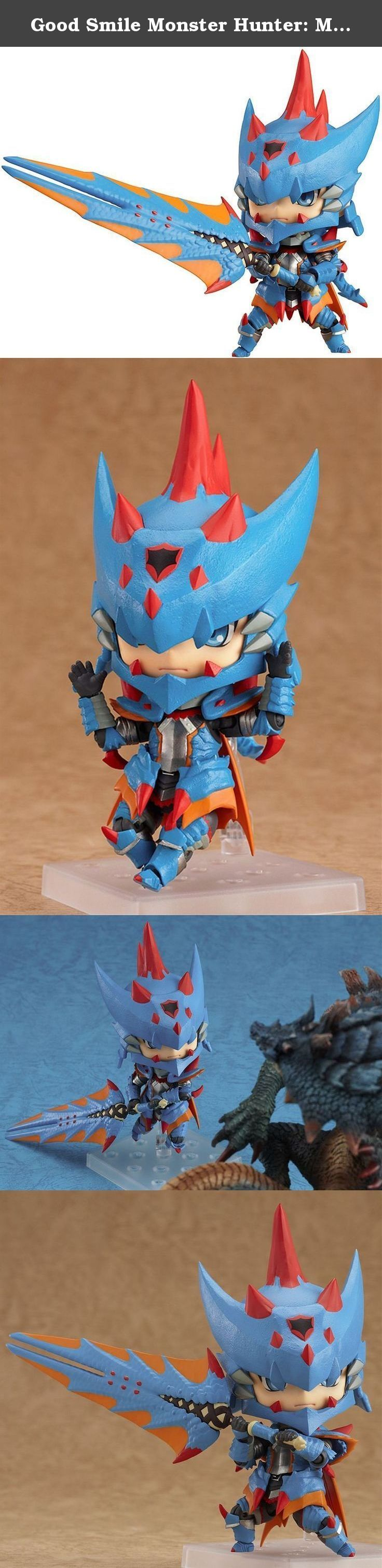 Good Smile Monster Hunter: Male Swordsman Nendoroid Action Figure Lagia X Edition. From Good Smile Company. From the Nintendo 3DS exclusive game, 'Monster Hunter Tri G' comes a fully posable Nendoroid of the male swordsman wearing the G-class 'Lagia X Series' of armor that can only be made using materials from the powerful sea wyvern, Lagiacrus! The surface of his armor has been given a very solid finish to recreate the protective appearance of the armor, and in total he features an…