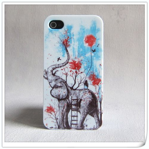 iphone 5 case unique iphone 4 4s case covers happy by dramar, $10.30