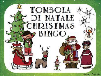 Utile risorsa per imparare divertendosi le paroline del Natale in lingua italiana e inglese. Bellissima grafica, ottima qualit.