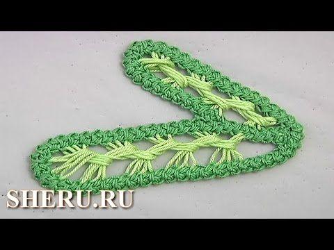 Румынские кружева Урок 90 Romanian Leaf Lace Pattern - YouTube