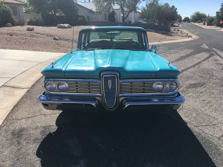 1959 Edsel Ranger (With images)   Edsel, Ford company ...