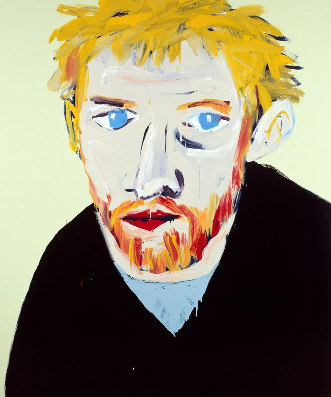Adam Cullen 'Portrait of David Wenham' 2000 winner
