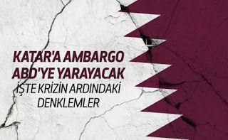 The social news: KATAR'A AMBARGO