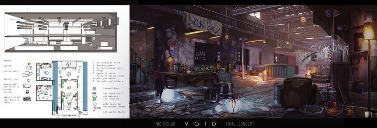 ArtStation - VOID short movie , Maéva Cortinovis