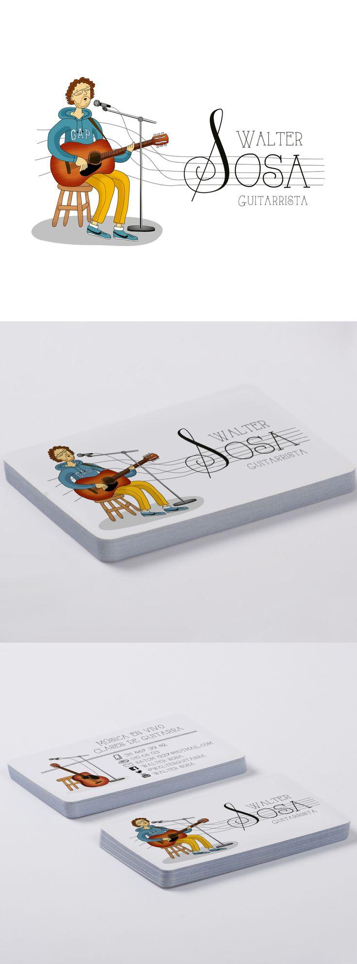 walter sosa #guitarrista #branddesign #ilustracion