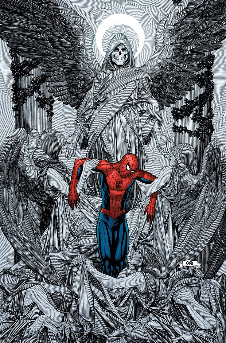 Mistress Death wants Spidey in her kingdom....