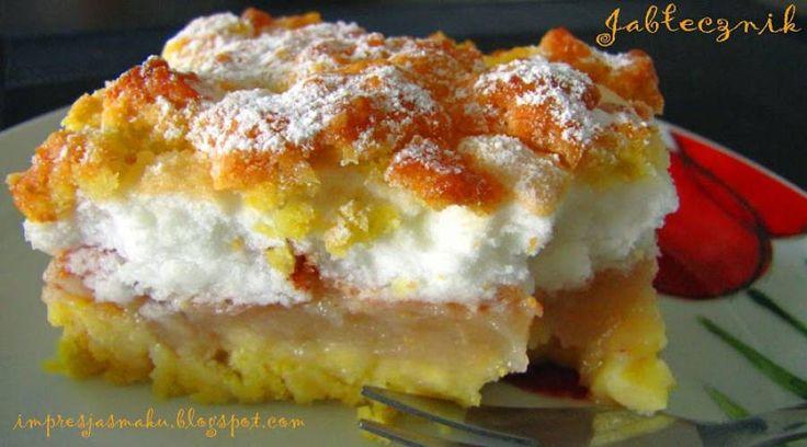 """Kolejny przepis, który przepisałam z zeszytu mojej mamy. Tych """"zwędzonych"""" przepisów zamierzam wypróbować znacznie więcej, nie tylko na ciasta:-) Składniki: Ciasto:..."""